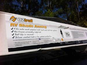 how to fit an oztrail awning