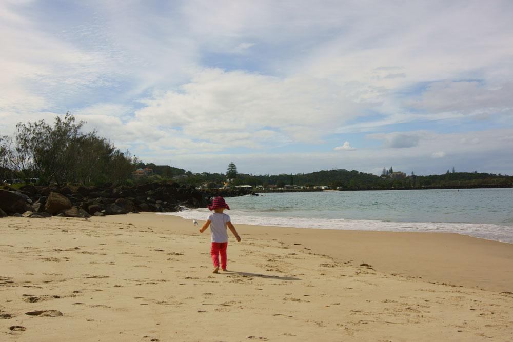 ballina-beach-celeste-walking