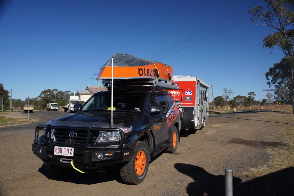 This Is Our Australia Landcruiser