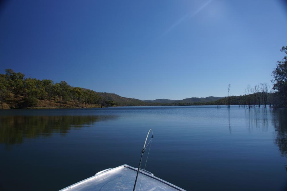 Cania Gorge Lake
