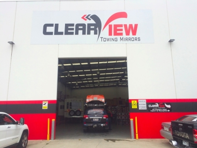 Clearview Towing Mirrors workshop