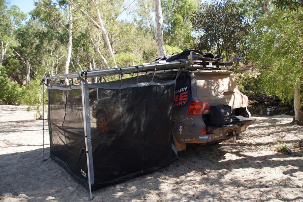 OZtrail RV Shade awning mesh room & OZTrail - Product Sponsor of This Is Our Australia