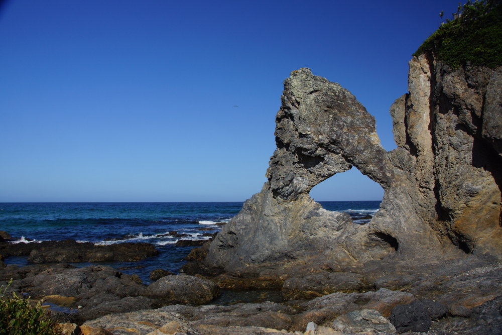 Australia rock at Narooma