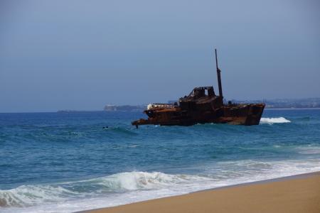 Sygna ship wreck Stockton Beach